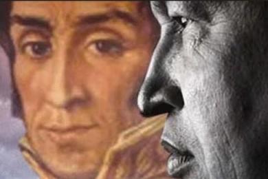 Chavez e Bolivar