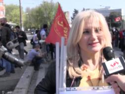 contro il vertice a Roma per i 60 anni della Unione Europea