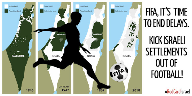 Cartellino rosso ad Israele 5