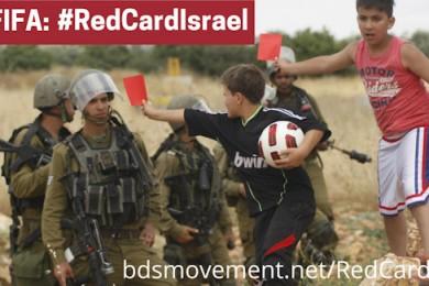 Cartellino rosso ad Israele