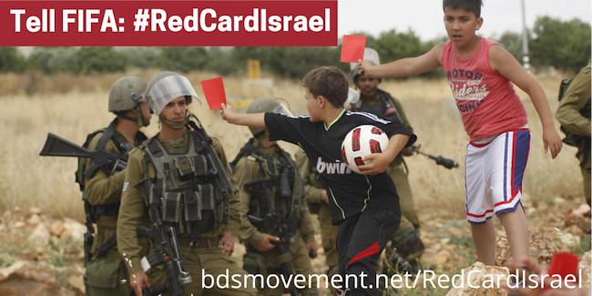 BOICOTTAGGIO : ITALIA – ISRAELE CARTELLINO ROSSO ALL'OCCUPAZIONE