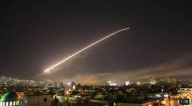 Bombardamento Damasco Siria