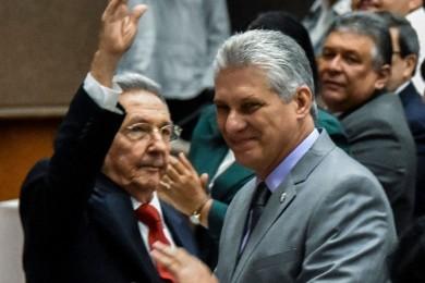Miguel Diaz Canel e Raul Castro 2