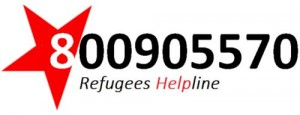 Refugees help line