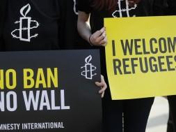 welcome refugees Amenesty