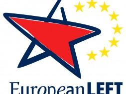 Logo Partito Europeo della Sinistra