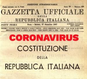 Coronavirus e Costituzione