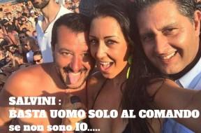 Salvini al comando